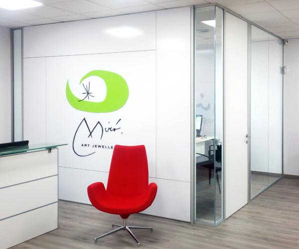 Mir complements artis for Oficinas bbva terrassa